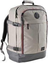 CabinMax Metz – Handbagage - Rugzak 44l– Schooltas - 55x40x20cm – Lichtgewicht - Vintage Grijs  (MZ V-GY)