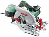 Bosch PKS 66 A cirkelzaag - 1600 Watt - 66 mm zaagdiepte - Met gratis Optiline Wood cirkelzaagblad t.w.v. 51,50