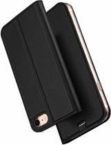 Dux Ducis Slim Softcase Booktype voor iPhone 8 / 7 - Zwart