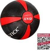 Gymstick Medicijnbal - Met trainingsvideo's - 4 kg
