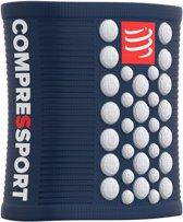 Compressport Sweatbands 3D Dots Blue/White Zweetband