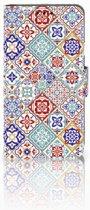 LG X Style Uniek Boekhoesje Tiles Color