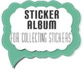 Sticker Album for Collecting Stickers