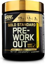Optimum Nutrition Gold Standard Pre-Workout - 300 gram (30 servings) - Pineapple