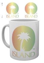 Island Records Logo Mok