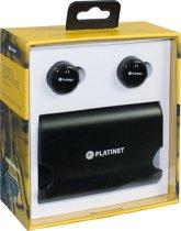 Platinet PM1080 In-ear Stereofonisch Draadloos Zwart mobiele hoofdtelefoon