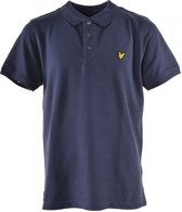 Lyle and Scott Jongens t-shirts & polos Lyle and Scott Classic polo shirt navy 164
