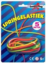 Springelastiek Regenboog 5 meter - Springtouw