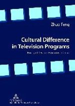 Cultural Difference in Television Programs