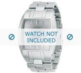 Diesel horlogeband DZ1177 Staal Zilver 18mm