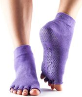 ToeSox Sokken Zonder Tenen - Paars