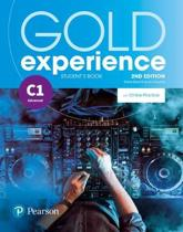 Gold Experience 2nd Edition C1 Student's Book with Online Practice Pack