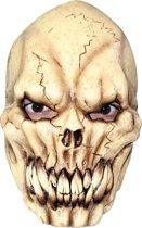 Angstaanjagend skeletmasker voor volwassenen Halloween - Verkleedmasker