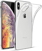 Apple iPhone XS Max Transparant TPU Hoesje