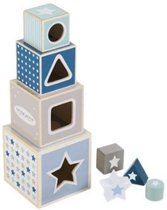 Little Dutch Houten Stapelblokken - Mixed Stars