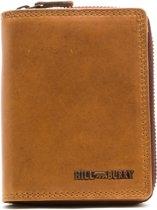 Hillburry - VL777010 - 6405 - portemonnee - bruin - leer