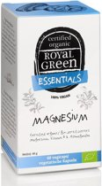 Royal Green - Magnesium (met ashwagandha en vitamine D) - 60 vegicaps