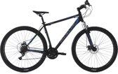 """Ks Cycling Fiets Mountainbike Hardtail 29"""" Sharp KS Cycling zwart-blauw - 51 cm"""