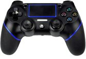 QY PS4-controller – Bluetooth Wireless Double-Shock 4 Controller voor PlayStation 4 - zwart