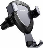 ESR iPhone 8 Plus verstelbare autohouder aluminium Zwart