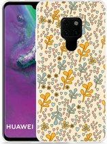 Huawei Mate 20 Hoesje Doodle Flower Pattern