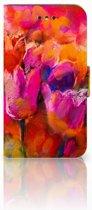 Nokia 1 Boekhoesje Design Tulips