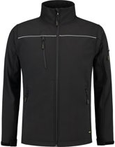 Tricorp soft shell jack - Workwear - 402006 - zwart - maat M