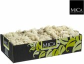 mica decorations - rendiermos mica l38b20h9.3 beige naturel 500gr
