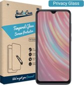 Just in Case Privacy Full Cover Tempered Glass Xiaomi Redmi Note 8 Pro Protector - Arc Edges