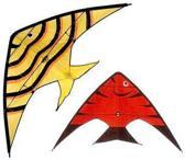 Fish Kids Kite 160x80cm