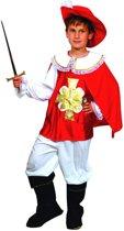 Musketierskostuum voor jongens - Verkleedkleding - 152/158