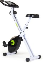 Hometrainer - VirtuFit iConsole Opvouwbare Home trainer - Fitness fiets - Wit