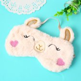 Slaapmasker alpaca