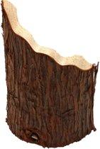 Happy Pet Natural Wooden Hideaway - 25 x 17 x 9 cm