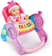 VTech Little Love 4 in 1 Babystoel - Paars