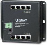 Planet WGS-4215-8T netwerk-switch Managed Gigabit Ethernet (10/100/1000) Zwart