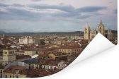 Uitzicht van het Spaanse stadsgezicht van Leon Poster 180x120 cm - Foto print op Poster (wanddecoratie woonkamer / slaapkamer) / Europese steden Poster XXL / Groot formaat!