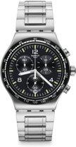 Swatch Irony Chrono Night Flight horloge  - Zilverkleurig