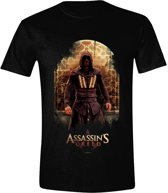 Assassin's Creed Movie - Character Pose Mannen T-Shirt - Zwart - M