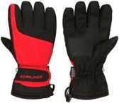 Rood/zwarte wintersport handschoenen Starling met Thinsulate vulling voor volwassenen M (8)
