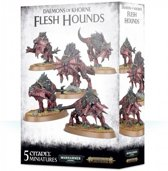 Age of Sigmar/Warhammer 40.000 - Daemons of Khorne Flesh Hounds