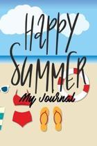 Happy Summer My Journal