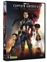 DVD cover van Captain America: The First Avenger