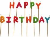 Taartkaarsen - Taartkaarsjes - Feestkaarsjes - Verjaardagskaarsjes - Kaarsen - Kaarsjes - Kaars - Happy Birthday - 13 Delig