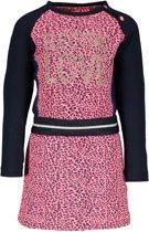 B.Nosy Meisjes Jurk - pink panther - Maat 80