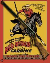 Signs-USA Daisy Carbine - Retro Wandbord - Metaal - 40x30 cm