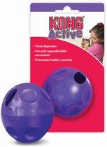 Kong Cat Treat Ball Paars - Balletje - 166mm x 102mm x 54mm - Paars