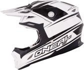 O'Neal Crosshelm 7 Series Race Black/White 661