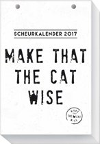 Make That The Cat Wise scheurkalender 2017