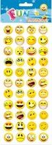 Stickervel smiley type 2
